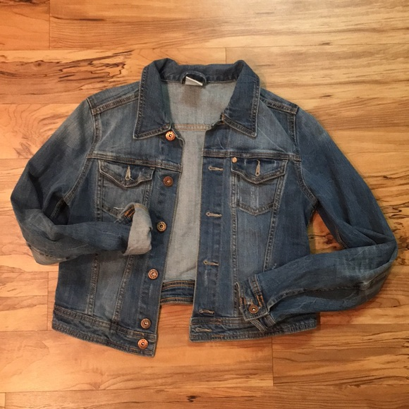 H&M Jackets & Blazers - Mid Wash Denim Jacket